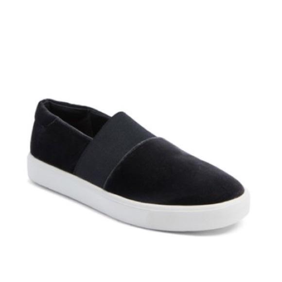 Vince Shoes   Vince Velvet Corbin Slip